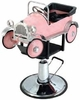 Pibbs Pink Car Kid's Hydraulic Chair 1811
