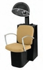 Pibbs Pisa Dryer Chair with Black Steel Base 3765