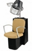 Pibbs Pisa Dryer Chair with Black Steel Base 3766