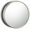 Sergeña Brushed Nickel Non-Lighted Magnetic Magnified Wall Mirror 33175