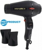 Turbo Power Hair Dryer 3800 Twin Turbo Ionic & Ceramic Black 330