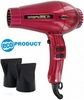 Turbo Power Hair Dryer 3800 Twin Turbo Ionic & Ceramic Cranberry 330