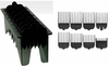 Wahl 8 Pack Black Cutting Guides Combs WA3170-500