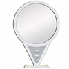 Zadro 5X/1X Lighted Adjustable Magnification White Fogless Mirror Z600