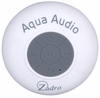 Zadro Aqua Audio Water Resistant Bluetooth Speaker White AQU01W