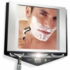 Zadro LED Lighted Stainless Nickel Fogless Mirror Z700SS