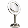 Zadro Surround Light 10X/1X Satin Nickel Vanity Mirror SLV410