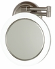 Zadro Surround Light 10X/1X Satin Nickel Wall Mirror SLW410HW