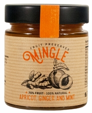 Mingle Apricot, Ginger & Mint Preserves