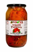 VA-VA Fire Roasted Red Peppers