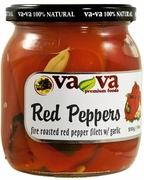VA-VA Roasted Red Peppers w/ Garlic