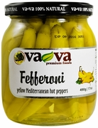 VA-VA Yellow Fefferoni Peppers