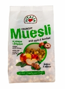 Vitalia Crunchy Muesli - Apple & Hazelnut - Case of 12