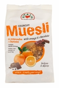 Vitalia Crunchy Muesli Orange & Chocolate - Case of 12