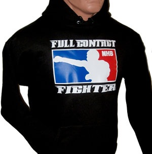 FCF NHB Hooded Sweatshirt - Black