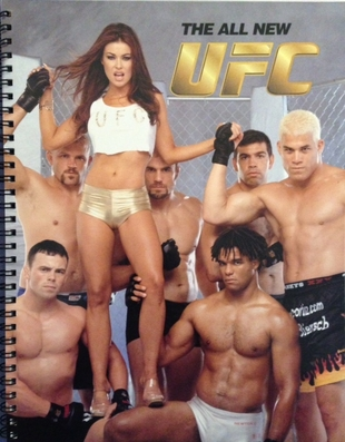 UFC RARE 2001 ROLL OUT CAMPAIGN BOOK WITH CARMEN ELECTRA