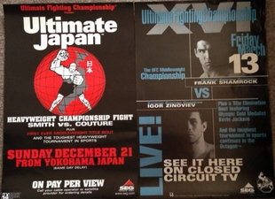 SOLD VERY RARE SEG/UFC POSTERS
