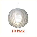 "24"" Chinese Paper Lantern 10 Pack Bulk Discount Super Saver"