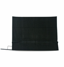 "24""x36"" Solid Black Cover Slip On 1954"