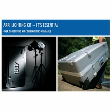 Arri 300 / 650 Fresnel Compact Light Kit with Wheels, LK.0005654