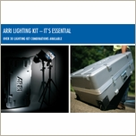 Arri Compact 3 Light Case with Wheels 571194W