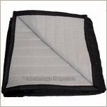 Deluxe Sound Blanket  Black / White Grommets