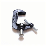 ETC C-Clamp, Heavy Duty, Black Pipe Clamp, HDPC
