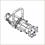 ETC Source 4 19 Degree Light Fixture 750W, WHITE