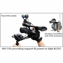 Frezzi Handheld Camera Continuous Lighting, Power and Support