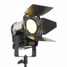 "Inca 4 <b><font color=""red"">Tungsten</b></font color> Fresnel Light Kit"