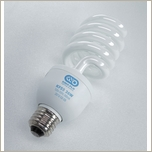 Kino Flo Spiral Compact Fluorescent CFL Daylight  26W Medium Base