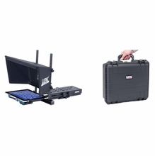 Listec Promptware Teleprompter for iPad, PW-10EBC w/ Hard Case