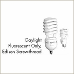 Lowel 65W  DaylightSpiral Fluourescent Screw Thread F1-65