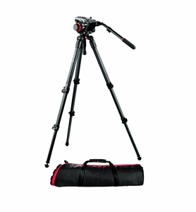 Manfrotto Midi CF System Carbon Fiber Tripod Kit w/ 504HD, 535K