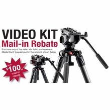 Manfrotto Video Tripod Kit Rebate Form
