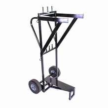 Modern Studio Grip Stand / C-stand Cart holds 12