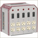 Mole Richardson Lunch Box Plus 100A Switchable Pass Thru 7701