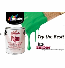 Muralo Chroma Key Green Screen Paint 1 Gallon # 42