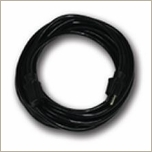 Pro Power Black Extension Cord 12/3 Molded Plugs 25ft
