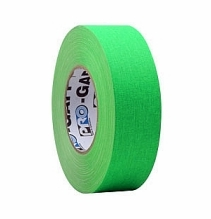 Pro Tape Pro-Gaff Neon Fluorescent Green Gaffer Tape 2in x 45 yds