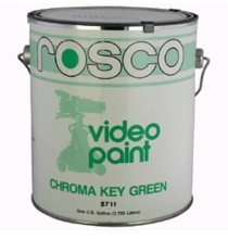 "Rosco Chroma Key Green Paint <font color =""red""> 5 Gallon</font color>  5711-5G"