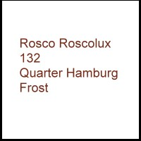 Rosco Roscolux 132 Quarter Hamburg Frost Gel Filter Sheet