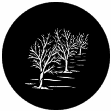 Rosco Three Trees 77744 Standard Steel Gobo