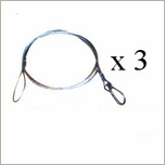 Safety Cable 3 Pack, 30""