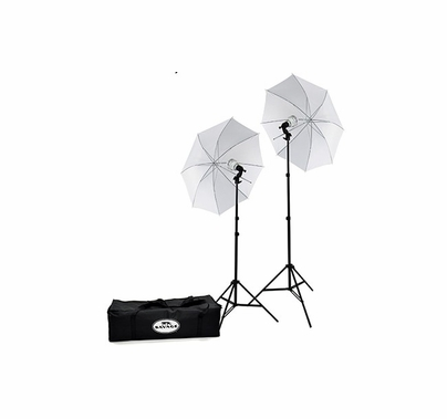 Savage 500 Watt LED Studio 2 Light Kit