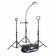 Savage Cobra LED 3 Light Interview Kit