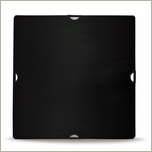 "Wescott Scrim Jim Small Flat  Black Solid 42""x42"" 1875"