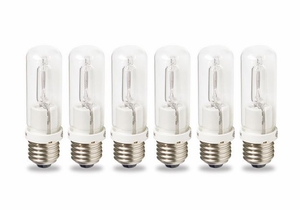 Westcott 6 Pack 150W Tungsten Halogen Bulbs / Lamps 6826