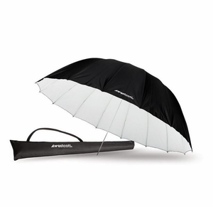 Westcott 7ft White / Black Parabolic Umbrella