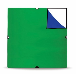 "Westcott Large Rev. Chroma  Key Green and Blue Fabric 72""x72""   1878"